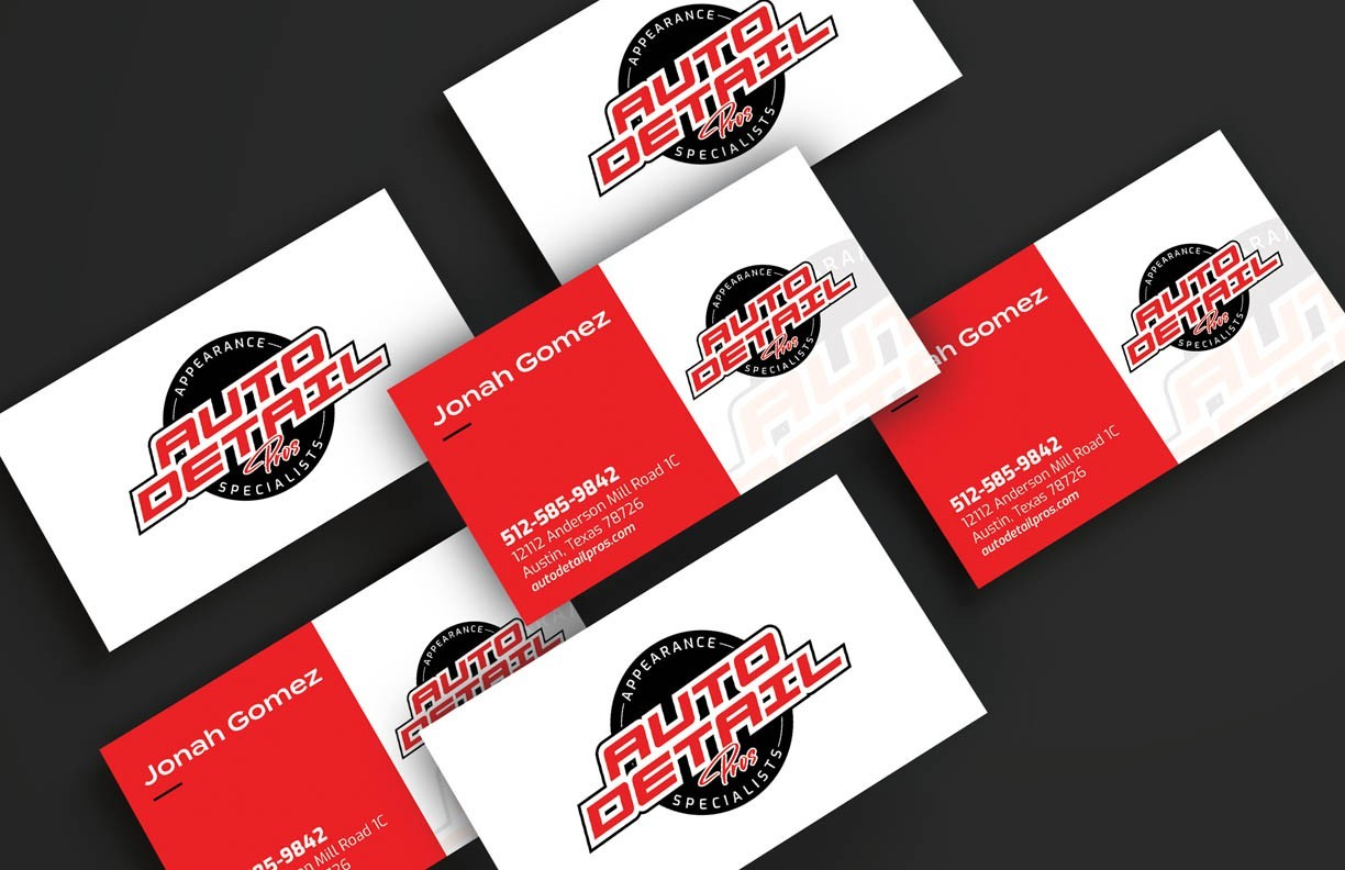 Auto Detail Pros Business Cards